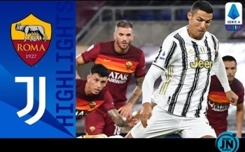 [Highlights] Serie A - Roma 2-2 Juventus | Ronaldo's Brace Ensures Juventus A Point | Serie A Tim